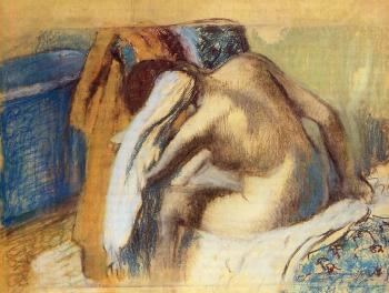 Edgar Degas : Woman Drying Her Hair