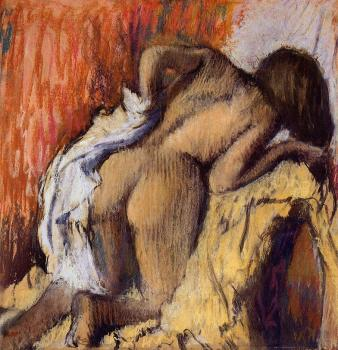 Edgar Degas : Woman Drying Herself IV