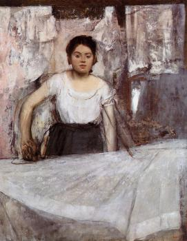 Edgar Degas : Woman Ironing II