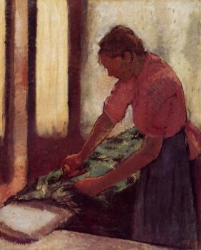 Edgar Degas : Woman Ironing VI