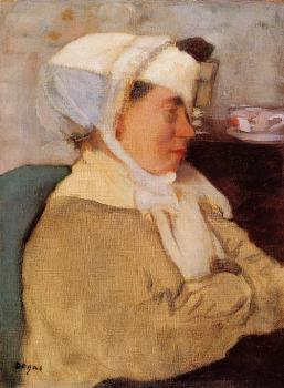 Edgar Degas : Woman with a Bandage