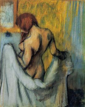 Edgar Degas : Woman with a Towel