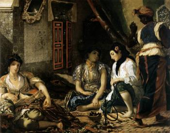 Eugene Delacroix : The Women of Algiers