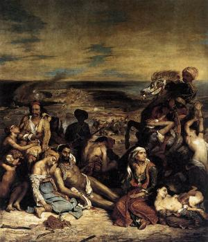 Eugene Delacroix : The Massacre at Chios