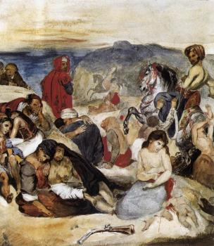 Eugene Delacroix : The Massacre of Chios
