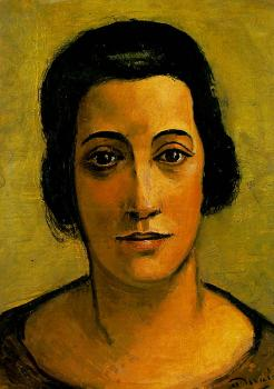 Andre Derain : Portrait of Madame Carco