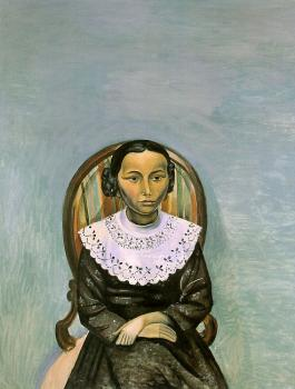 Andre Derain : Portrait of a Girl in Black