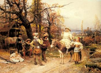 Cesare-Auguste Detti : A Halt along the Way