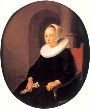 Gerrit Dou : Portrait of a Woman II