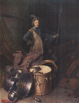 Officer of the Marksman Society in Leiden