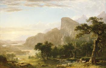 Landscape, Scene from Thanatopsis