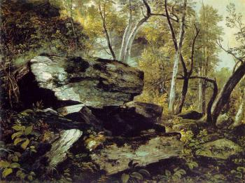 Study from Nature: Rocks and Trees