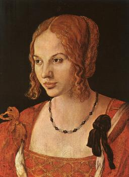 Albrecht Durer : Portrait of a Young Venetian Woman