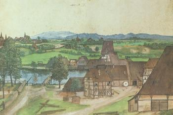 Albrecht Durer : The Wire-drawing Mill