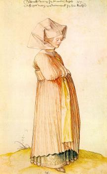 Albrecht Durer : Nuremberg Woman Dressed for Church