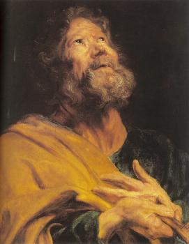 An Apostle with Folded Hands