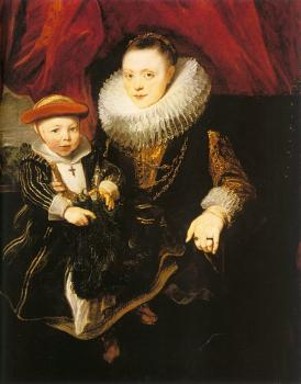 Young Woman with a Child