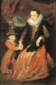 Portrait of Susanna Fourment and Her Daughter