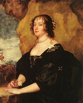 Anthony Van Dyck : Diana Cecil, Countess of Oxford