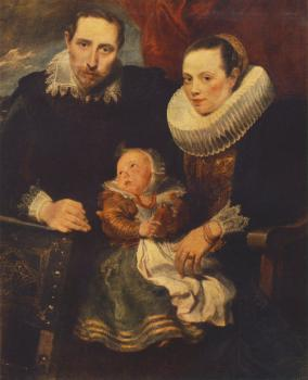 Anthony Van Dyck : Family Portrait II