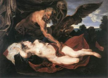 Anthony Van Dyck : Jupiter and Antiope
