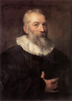 Anthony Van Dyck : Portrait of the Artist Marten Pepijn