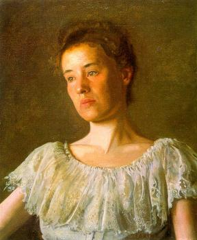 Thomas Eakins : Portrait of Alice Kurtz
