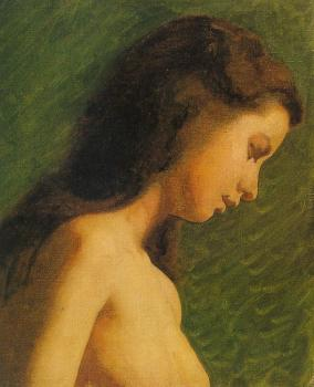 Thomas Eakins : Study of a Girl's Head