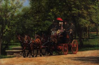 Thomas Eakins : A May Morning in the Park