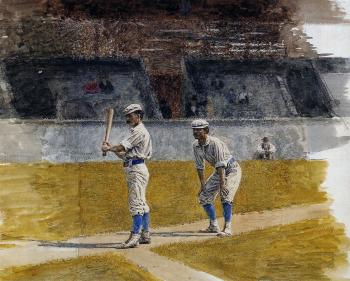 Baseball Players Practicing II