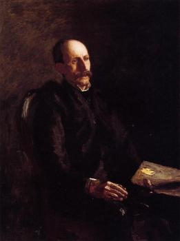 Thomas Eakins : Portrait of Charles Linford, the Artist