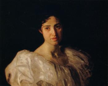 Thomas Eakins : Portrait of Lucy Lewis