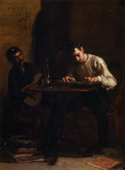 Thomas Eakins : Professionals at Rehearsal
