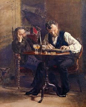 Thomas Eakins : The Zither Player