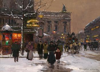 Cafe de la Paix, Opera Winter