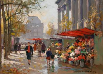 Flower Seller at the Madeleine