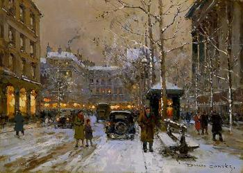 La Madeleine, Winter