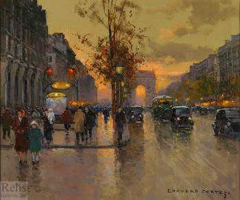 Edouard Cortes : Metro George V, Champs Elysees