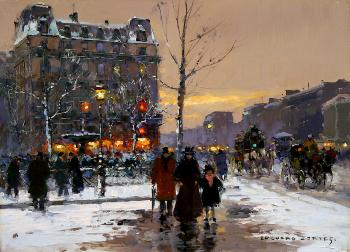 Place Pigalle, Winter