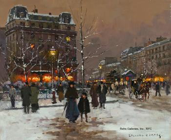 Place Pigalle, Winter II