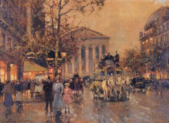 Edouard Cortes : The Rue Royal Madeleine