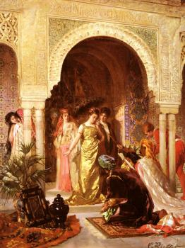 Edouard Frederic Wilhelm Richter : The Offering