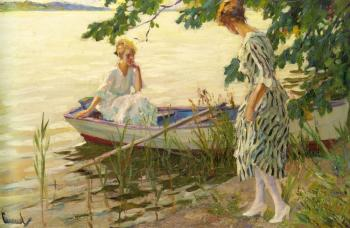Edward Cucuel : An Afternoon On The Lake