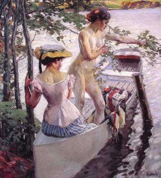Edward Cucuel : The Bathing Place