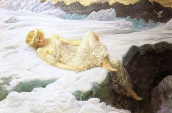 Edward Robert Hughes : Heart of snow