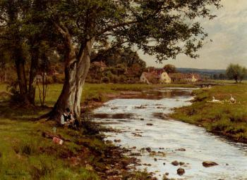 Edward Wilkins Waite : An Afternoons Fishing