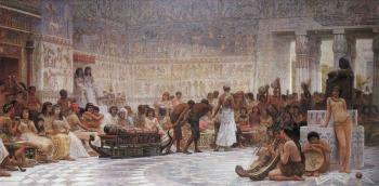 Edwin Longsden Long : An Egyptian Feast