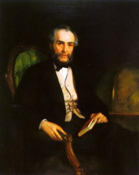 Edwin Longsden Long : Portrait of Peter Douglas Esquire