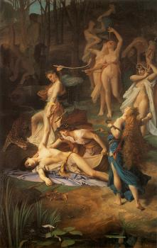 Emile Levy : Death of Orpheus