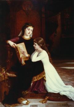 Emile Munier : reading lesson